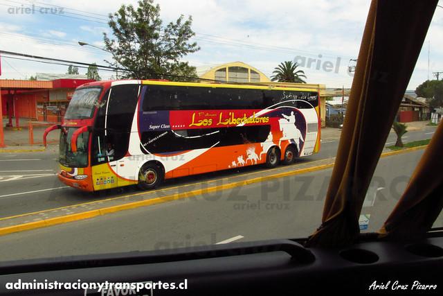Pullman Los Libertadores (Pullman Bus) - Talca - Marcopolo Paradiso 1800 DD / Volvo (CFWC53) (2154)