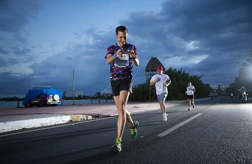 Participantes en Wings for Life World Run Cancún 2014