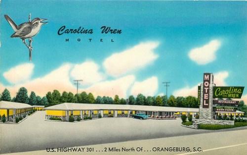 Carolina Wren Motel Orangeburg front 3