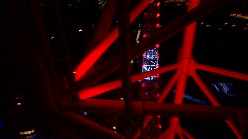 Londres por la noche desde el London Eye