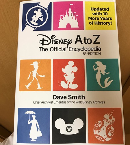 Disney A to Z Fifth Edition届きました!