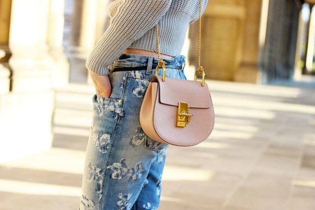 Chloe-bag-pink-drew-gold