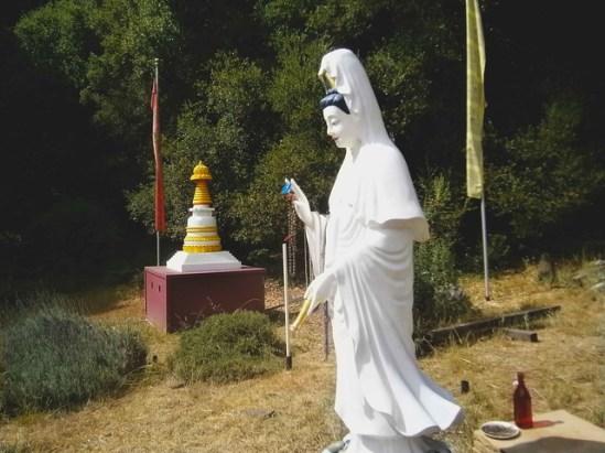 Statue in Santa Cruz