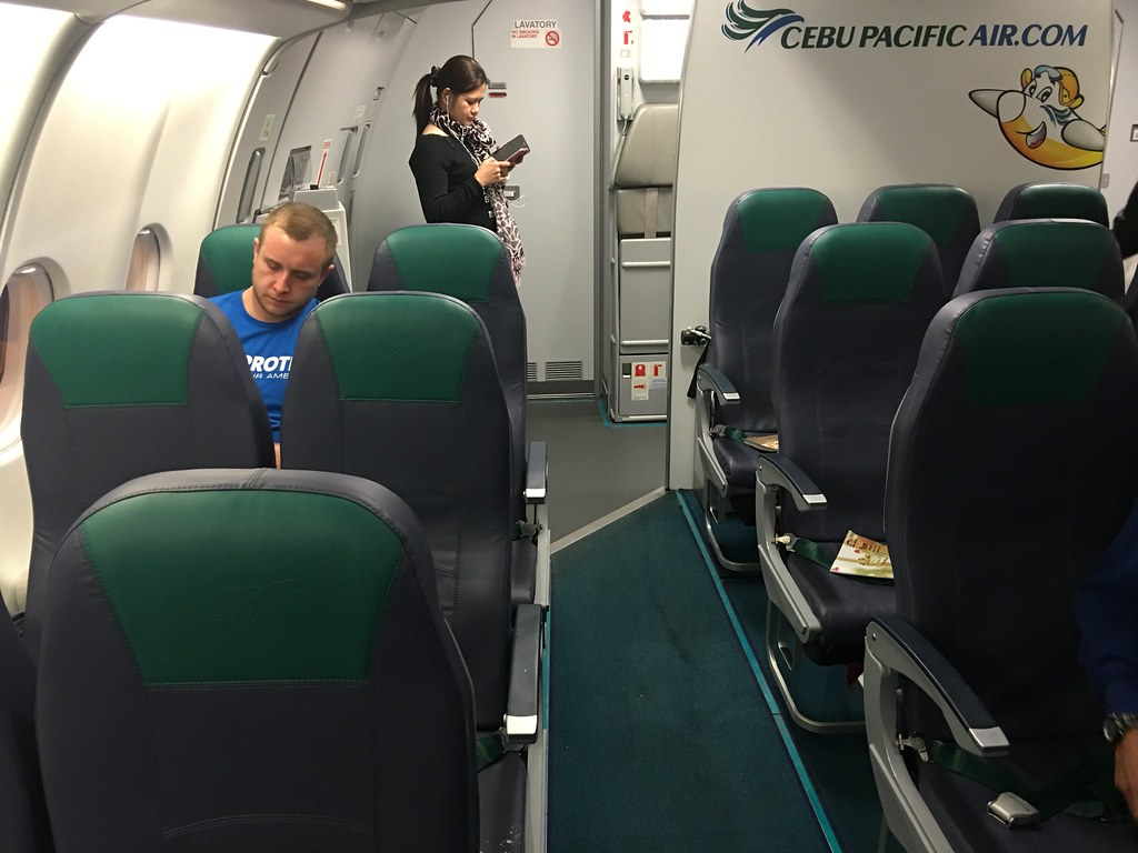 Cebu Pacific A330 Seating