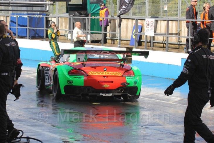 British GT Racing at Donington, September 2015