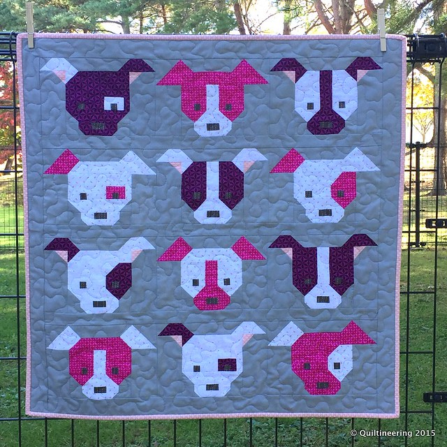 Dog Gone Cute - Quiltineering : cute quilt - Adamdwight.com