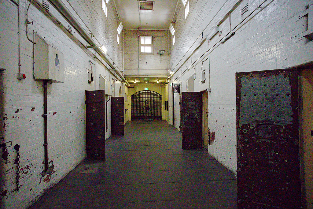 The main hallway of the City Watch House.