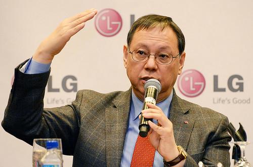 Jo Seong-jin, presidente y CEO de la LG Electronics Home Appliance & Solution Air Company