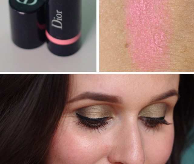 Dior Blush Cheek Stick In Cosmopolite Pink Review And Swatches