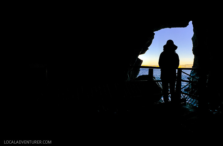 The Sunny Jim Cave is a hidden and historic attraction in La Jolla San Diego.