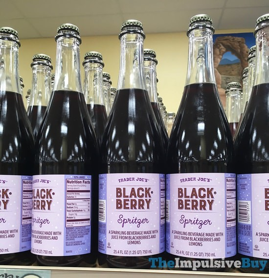 Trader Joe's Blackberry Spritzer