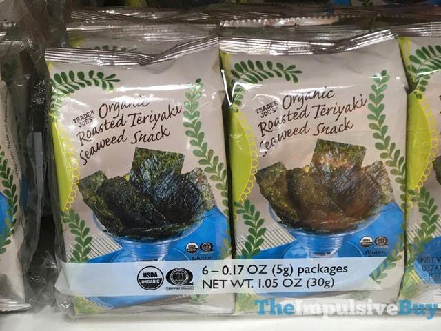 Trader Joe's Organic Roasted Teriyaki Seaweed Snack