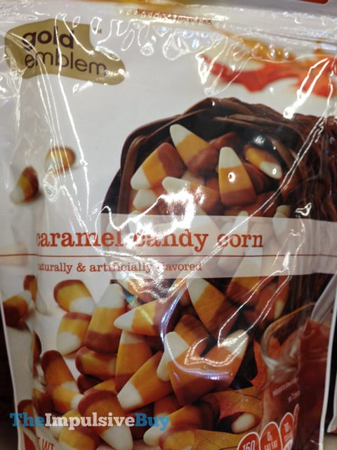 CVS Gold Emblem Caramel Candy Corn