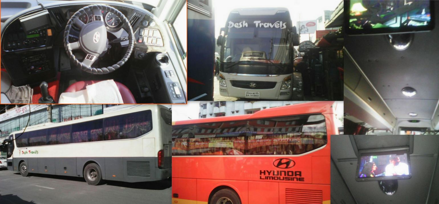 Highly Digital Bus Service Of Bangladesh DESH TRAVELS
