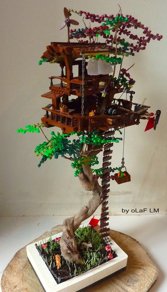 The Lego Tree House Of Your Childhood Fantasies The