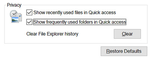 การตั้งค่า Privacy ของ Windows Explorer นี่สำคัญมาก