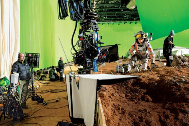 The Martian Filming