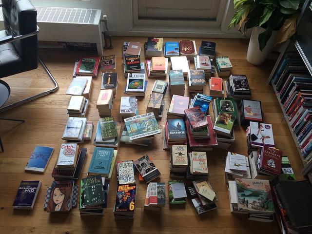 KonMari-ing my books