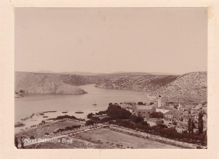 Skradin 1900... no marina, no bridge, no trees