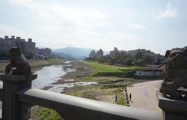 三峡 橋からの眺め