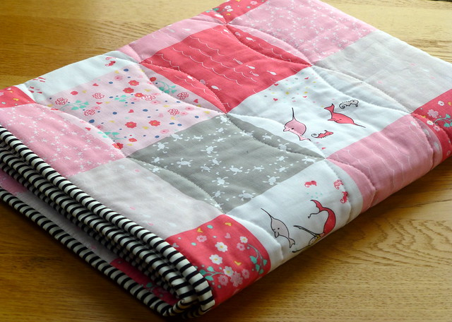 Baby Quilted panel for Fabric Yard