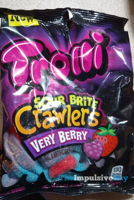 Trolli Very Berry Sour Brite Crawlers