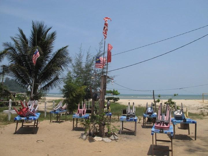 Пляж Чератинг - Cherating Beach