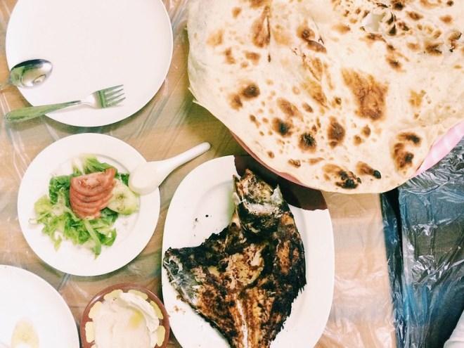 dinner im yemen village restaurant (khasab)