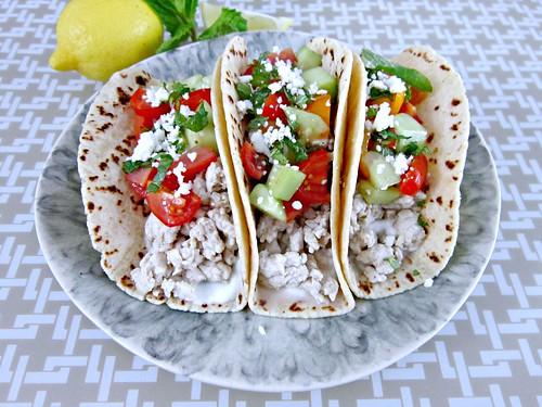 Greek Turkey Tacos 2