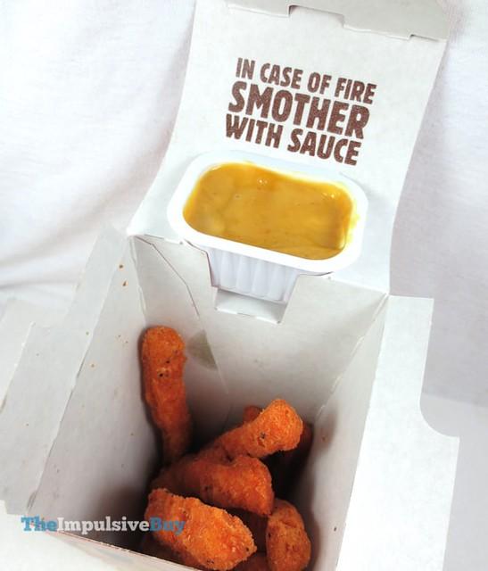 Burger King Fiery Chicken Fries 4