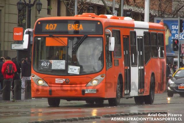 Transantiago - Express de Santiago Uno - Marcopolo Gran Viale / Volvo (FLXH18)