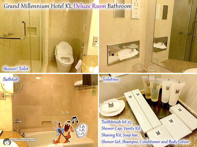 Grand Millennium KL Deluxe Room Bathroom