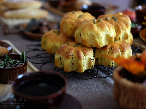 かぼちゃパン 20151024-DSCF2639
