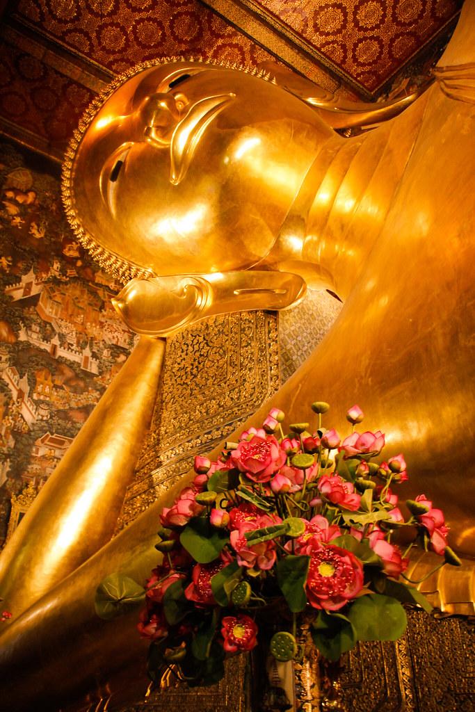 Den liggende Buddha, Bangkok