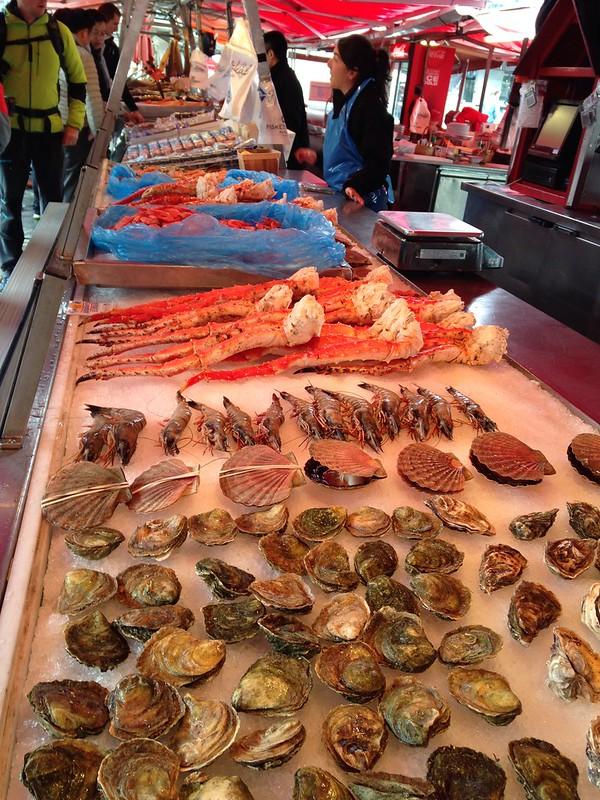 Mercado de Bergen, Noruega