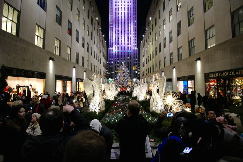 Rockefeller Center Christmas Tree Lighti