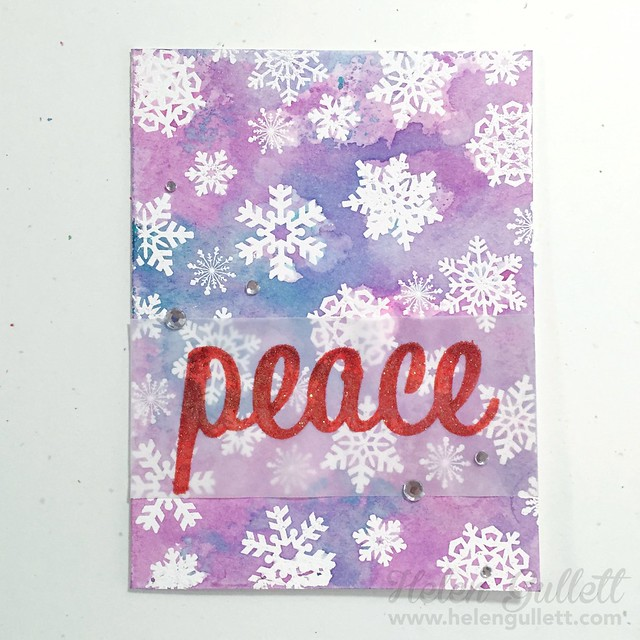 Snowflakes Peace