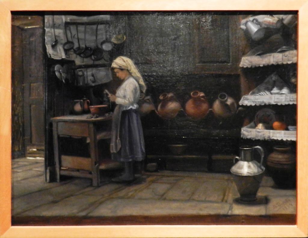 Pinturas Museo Abade de Bacal Braganza Portugal 03