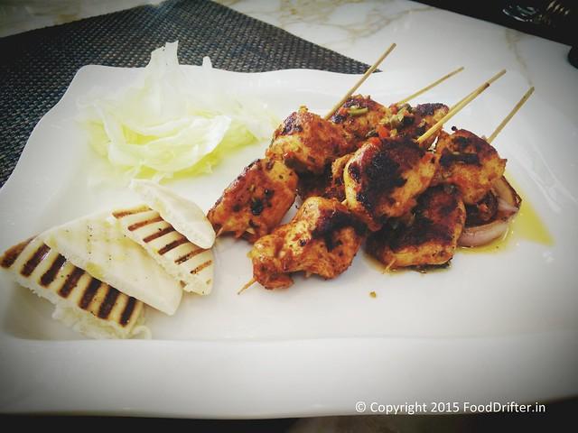 Chicken Keftas