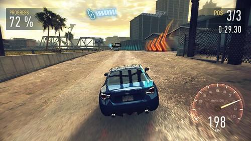 เกม Need for Speed: No Limits บน OPPO R7 Lite