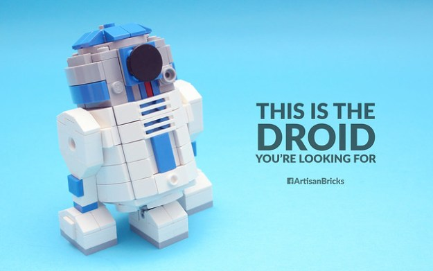 This Is The Droid Youre Looking For The Brothers Brick The