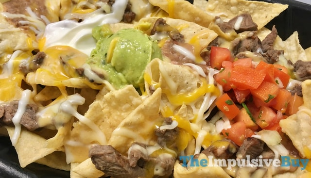 Taco Bell Steakhouse Nachos 2