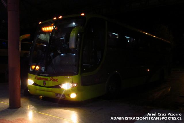 Pullman Sur - Temuco - Marcopolo Viaggio 1050 / Volvo (BYDG34)