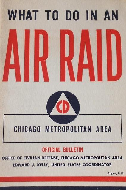 Air Raid - Chicago - 1942