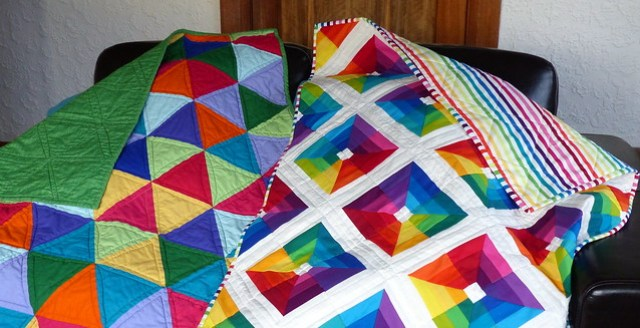 Quilts for Pip and Nat, and Backing