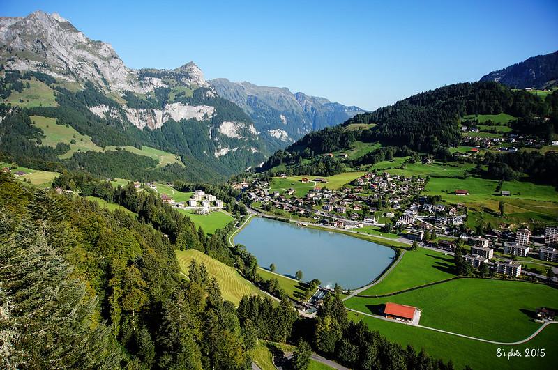 紅塵萬丈: 2015 夏.健行國度.瑞士 - 09 也是健行好地方.鐵力士山.Trübsee