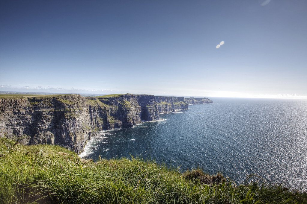 Cliffs of Moher, County Clare Ireland - Ireland Travelasics Guide.