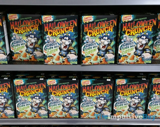 Limited Edition Cap'n Crunch Halloween Crunch Cereal (2015)