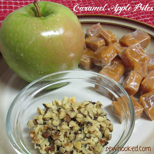 31 Days of Halloween - Caramel Apple Bites (2/6)