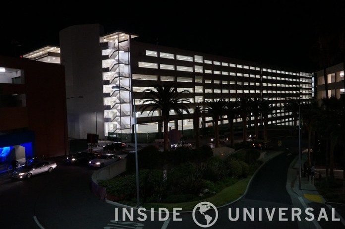 Photo Update: December 19, 2015 - Universal Studios Hollywood - E.T. Parking Structure